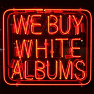 New WE BUY WHITE ALBUMS web