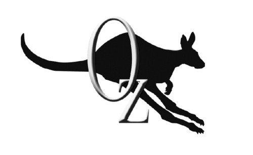 Oz Logo (B&W)